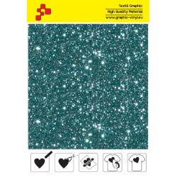 IDD783A Perleťová akvamarínová (Arch) nažehľovací fólia / iDigit
