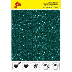 IDD782A Perleťová tyrkysová (Arch) nažehľovací fólia / iDigit