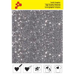 IDD796A Perleťová strieborná (Arch) nažehľovací fólia / iDigit