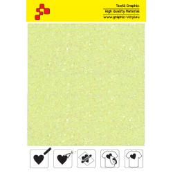 IDDFLUO20A Perleťová neónovo žltá (Arch) nažehľovací fólia / iDigit