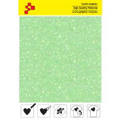 IDDFLUO50A Perleťová neónovo zelená (Arch) nažehľovací fólia / iDigit