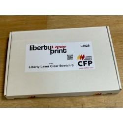 L402SA4 Laser tlač transparentná nažehľovací fólia / CFP Flex